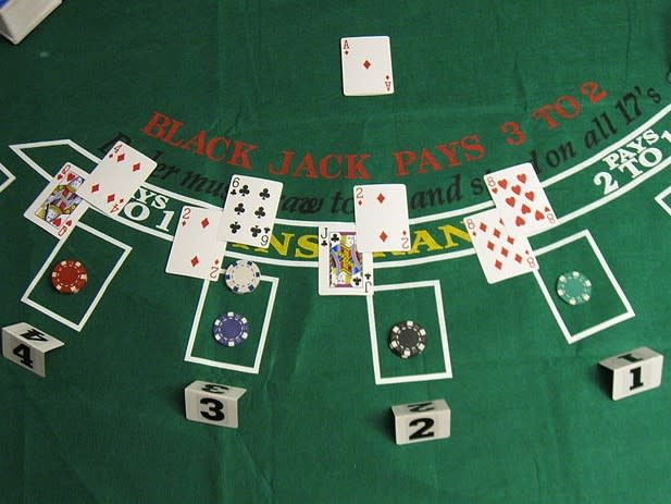Blackjack, the card counters favourite game