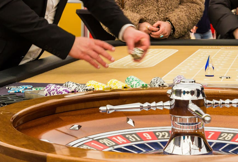 Roulette-The game where the Martingale Strategy is most often applied