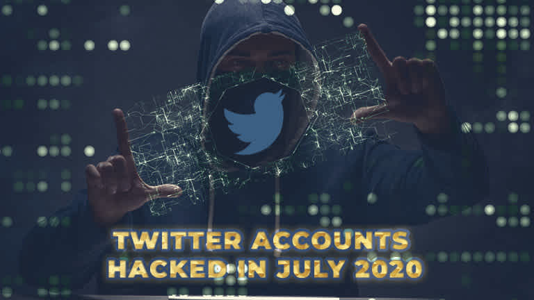 Twitter accounts hacked in July 2020