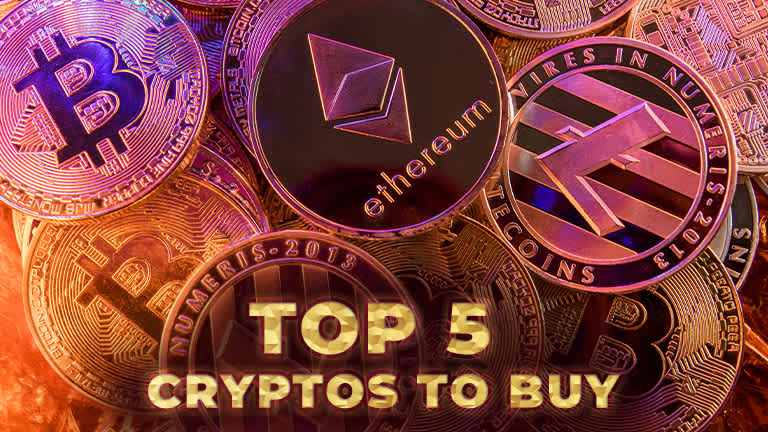 5 Cryptocurrencies You Should Buy as We Head Into 2021
