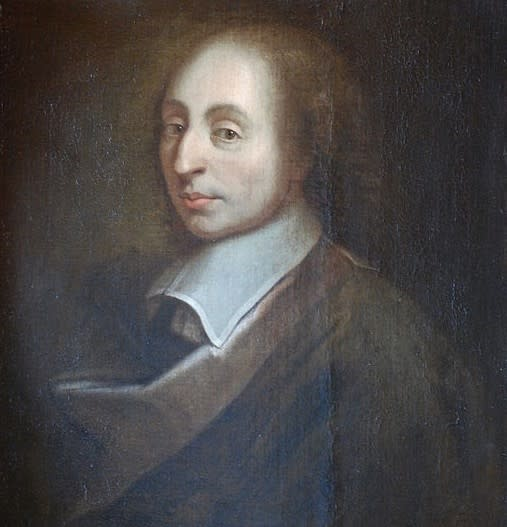 Blaise Pascal, inventor of the roulette wheel