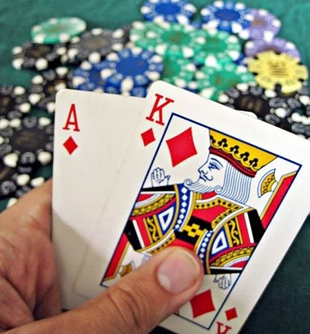 A high-value hand, card counting online or off will not guarantee you one