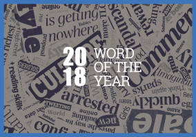 The 2018 Word Of Year Is