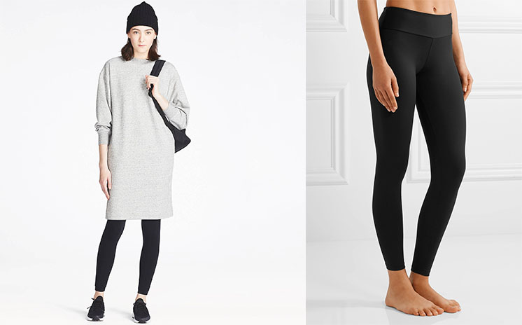 UNIQLO WOMEN SWEATSHIRT DRESS