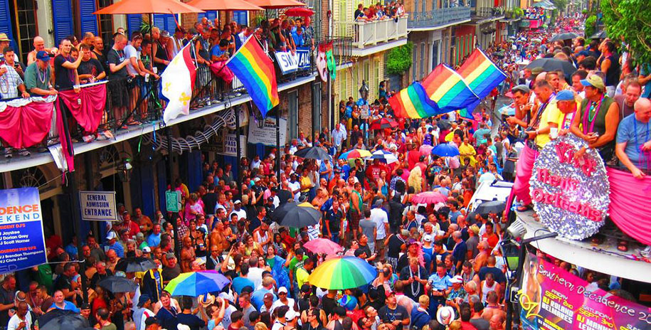 Southern Decadence, New Orleans, August 30 to September 3