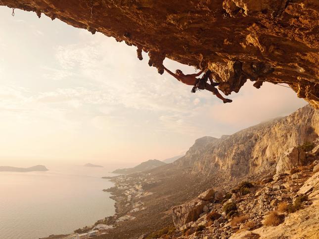 Rock Climb in Greece