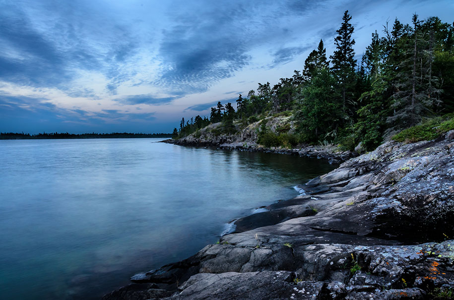 To get out on the water: Isle Royale National Park, Michigan