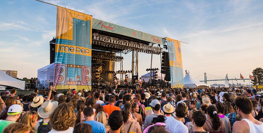 Mo Pop Festival in Detroit, Michigan