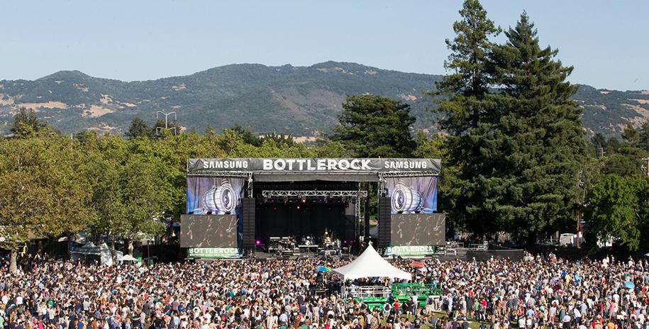 BottleRock in Napa Valley, California