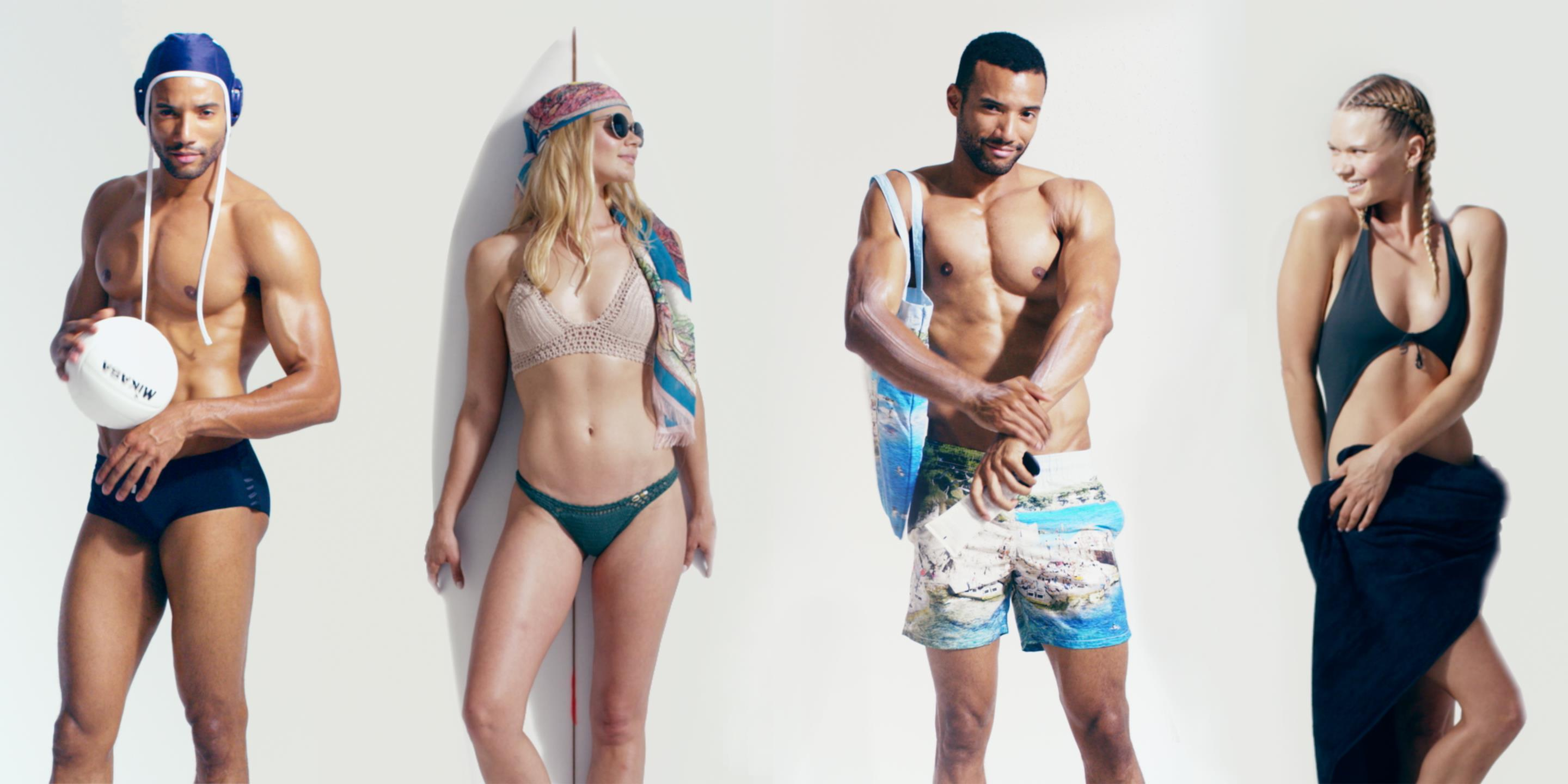 d31f3d55bc Bikinis, One-pieces, and swimming trunks: Best swimsuit trends for ...