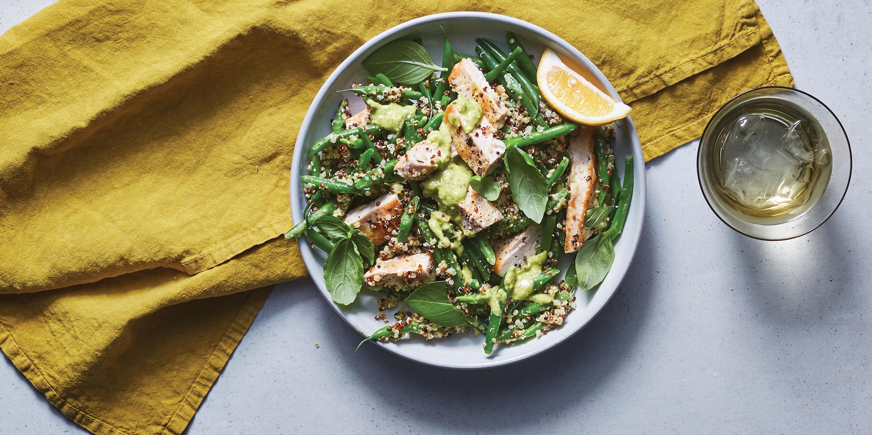 Green Bean Quinoa Salad Recipe