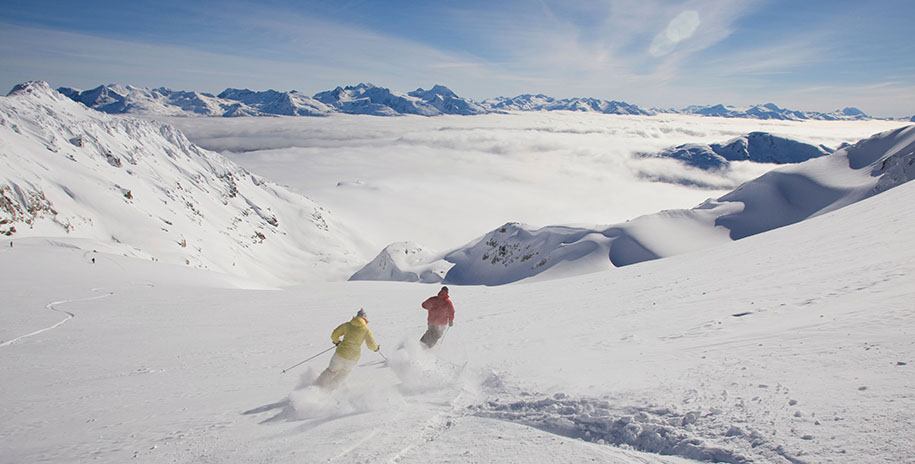 Whistler and Blackcomb Mountains, British Columbia