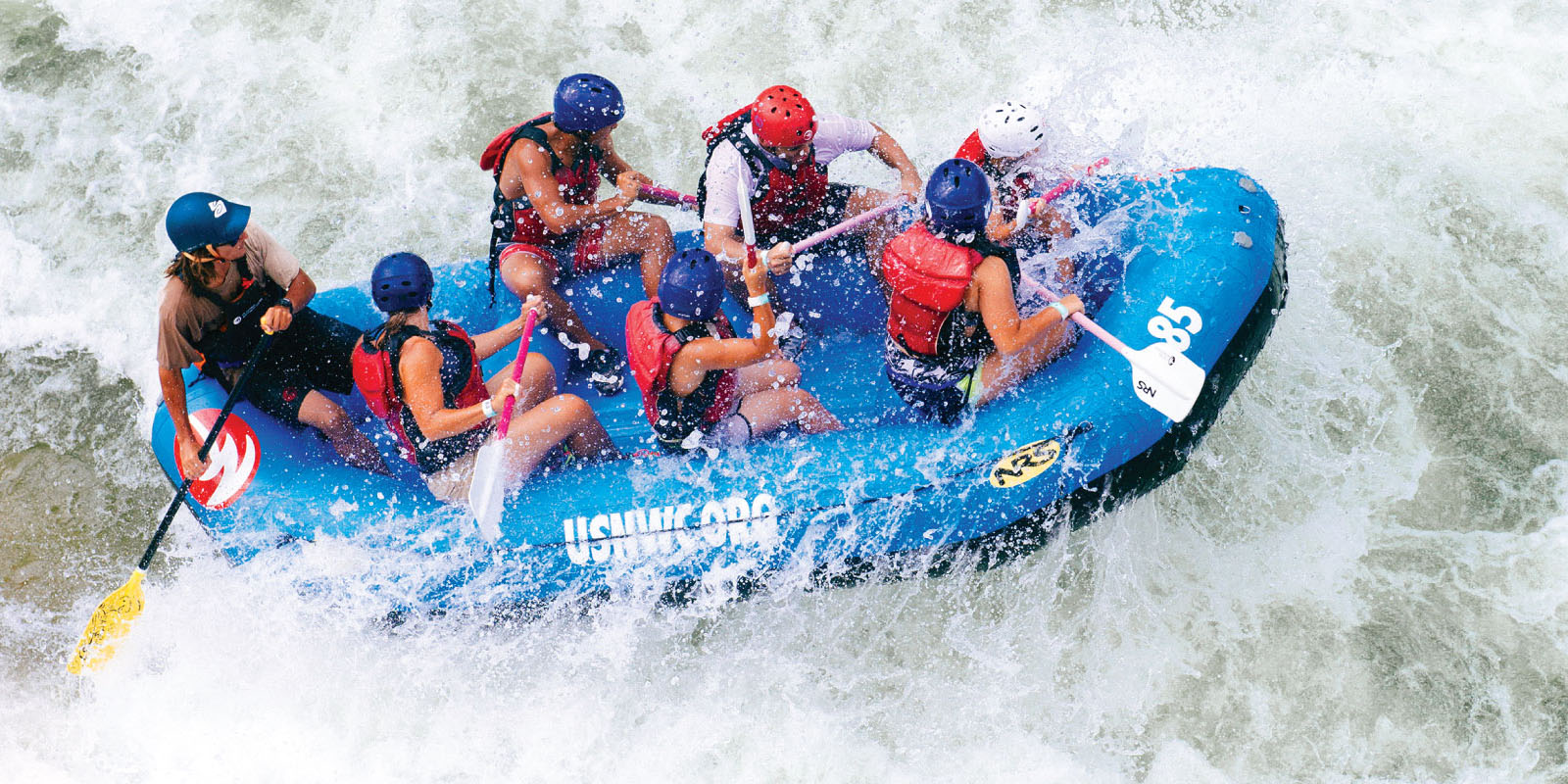 Ride the rapids.