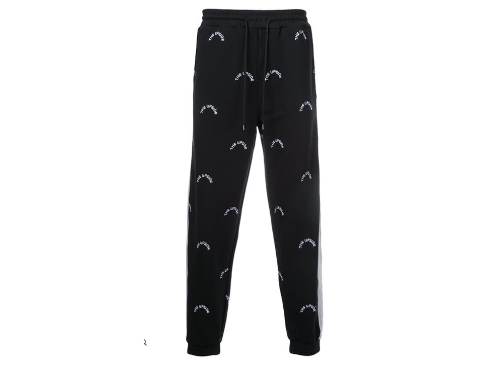 THE UPSIDE LOGO EMBROIDERED TRACK PANTS