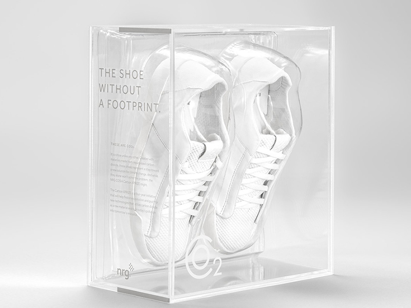 'NO FOOTPRINT' SNEAKERS