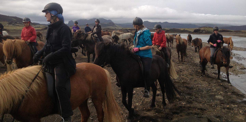 Learn to vault on horseback.