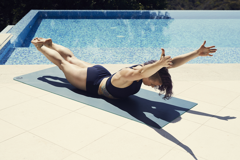Back Stroke Exercise 1) Back Extensions/Supermans