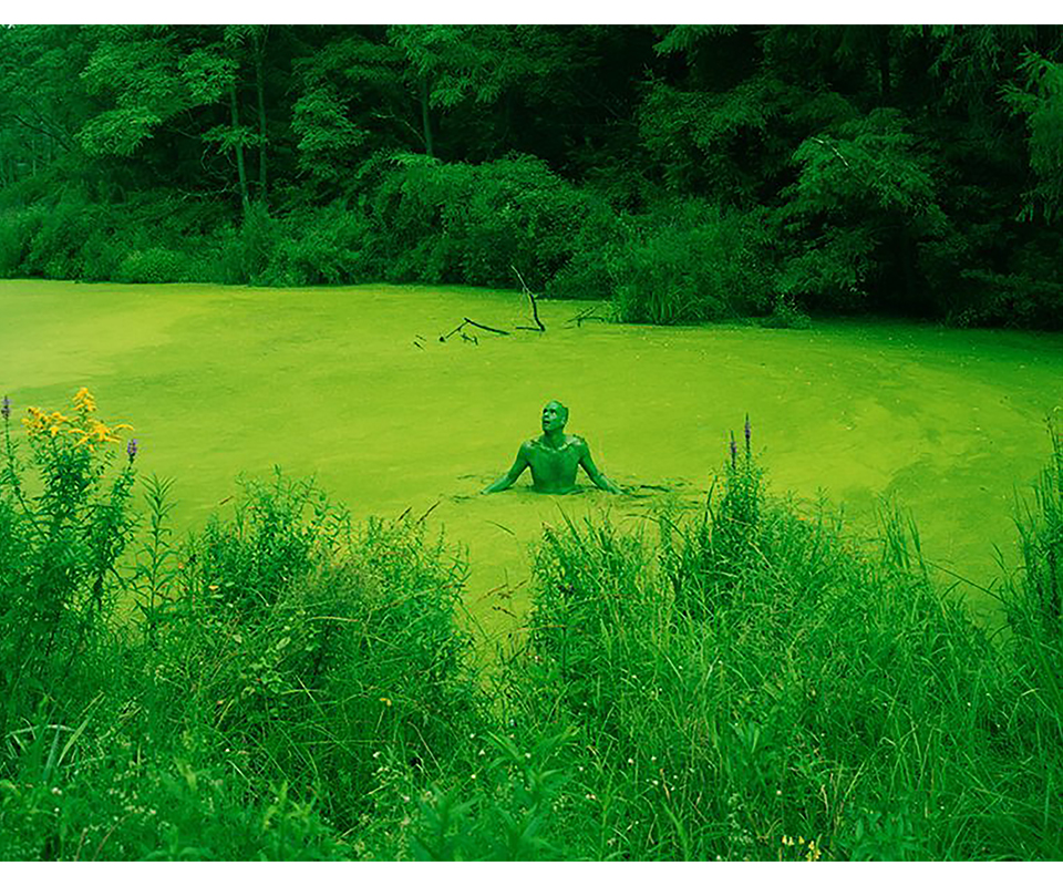 David Benjamin Sherry,Self Portrait as the Born Feeling Begins, 2009