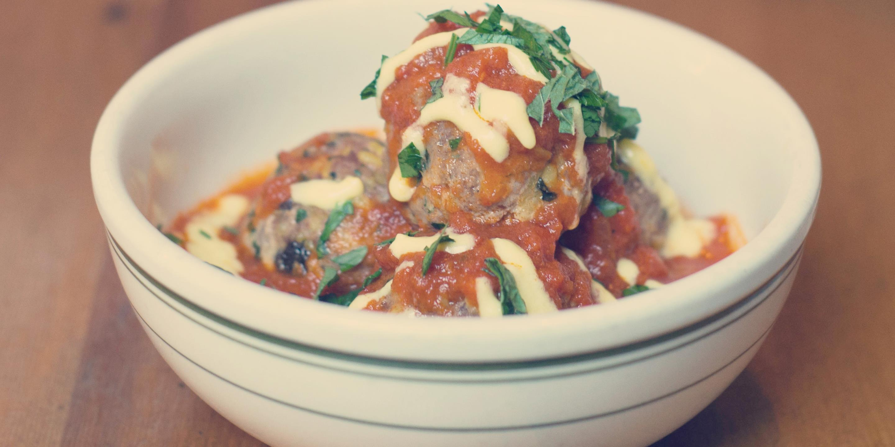 Healthy meatball is no longer an oxymoron - Furthermore