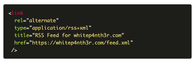 A screenshot of a code block that fails colour contrast