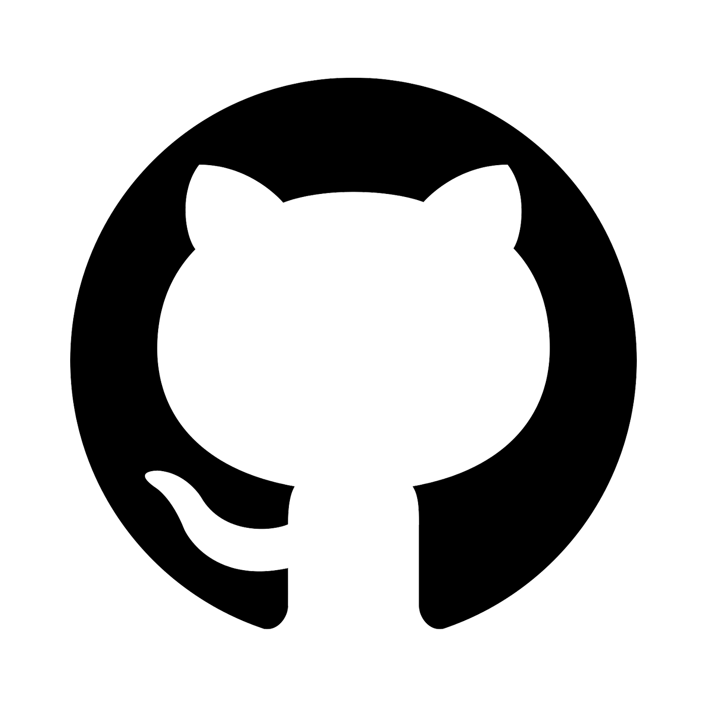 The GitHub logo