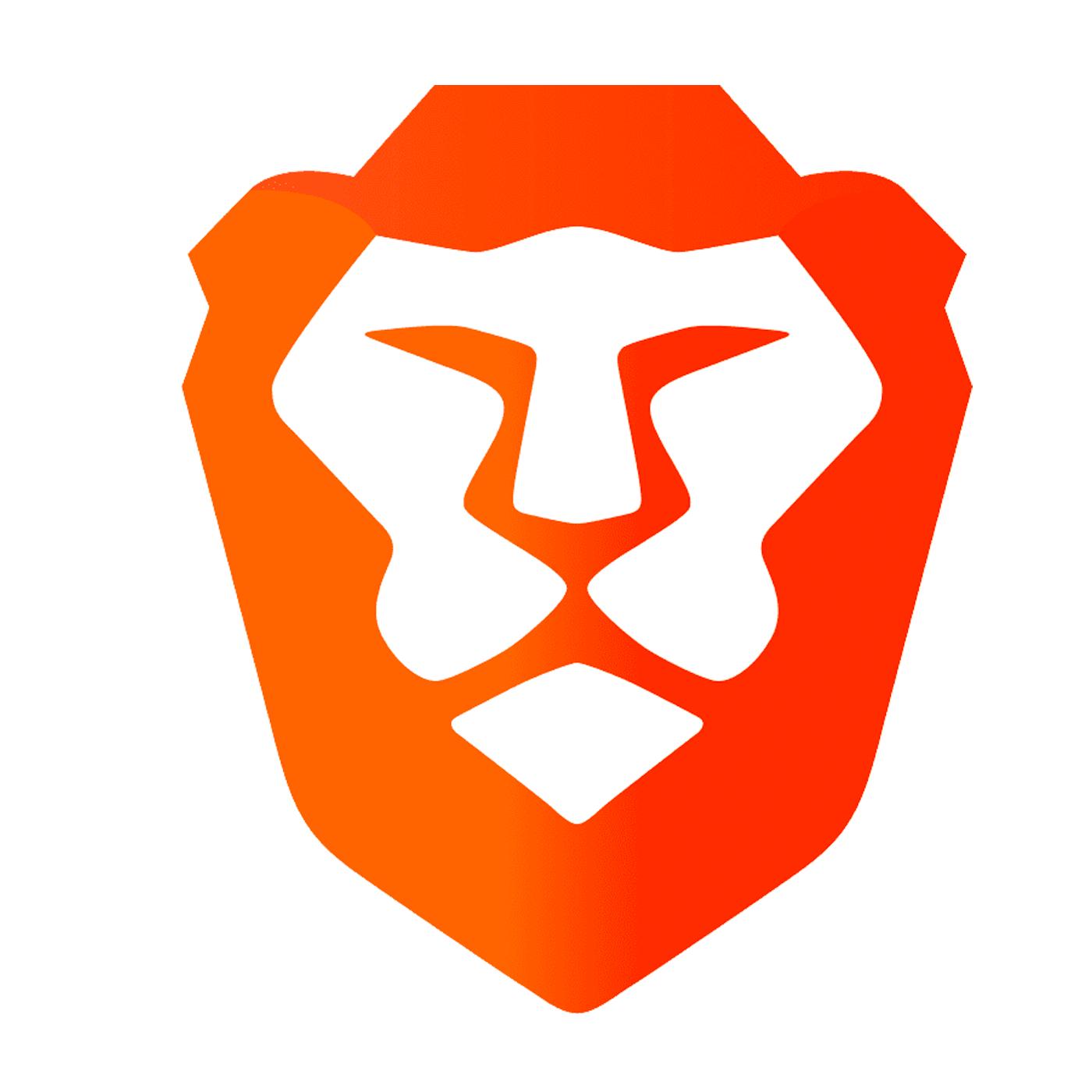 The Brave Browser lion logo