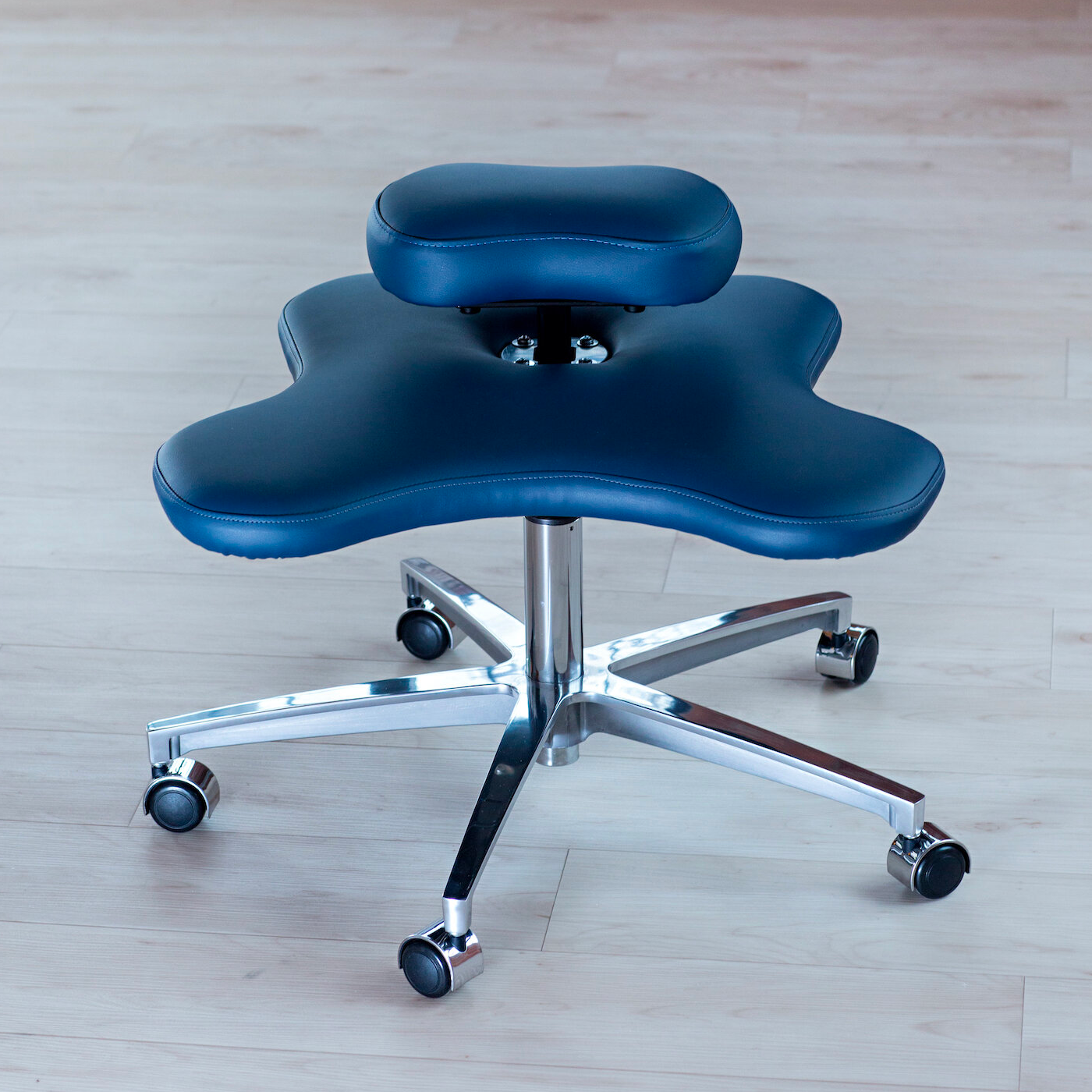 An image of a Soul Seat by Ikaria Design on a hard floor