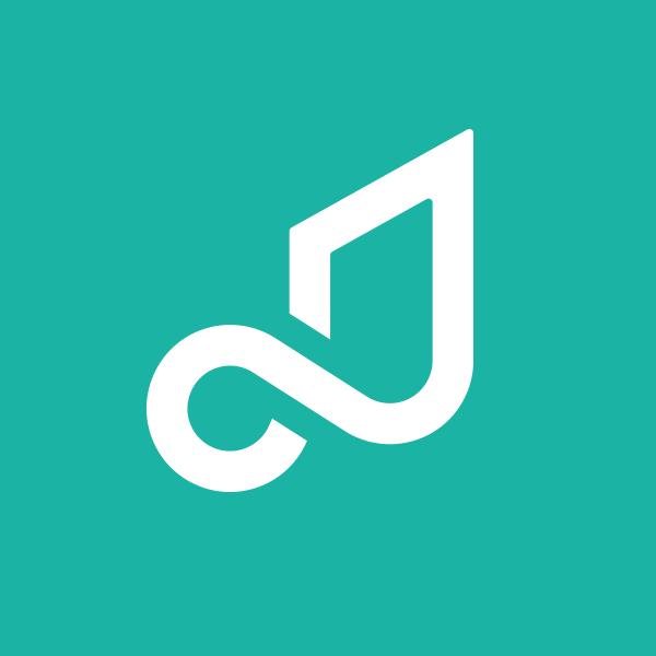 Pretzel music logo