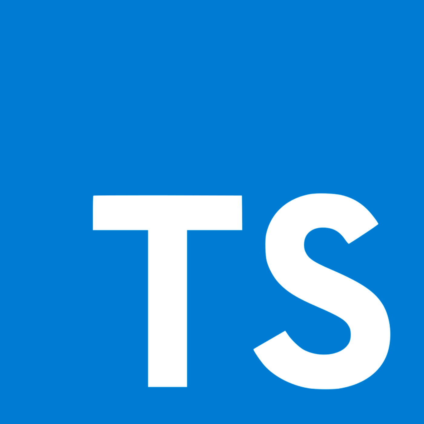 The TypeScript logo