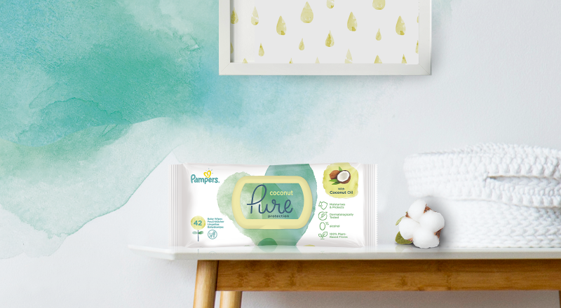 Pampers® Pure Coconut