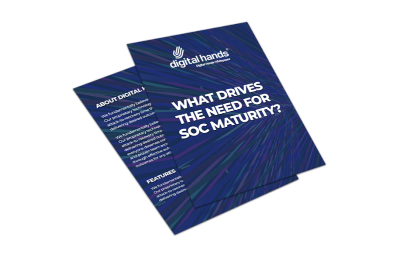 soc maturity cover 2