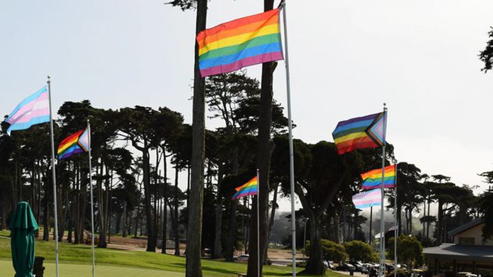 Pride Day Pro-Am at TPC Harding Park.