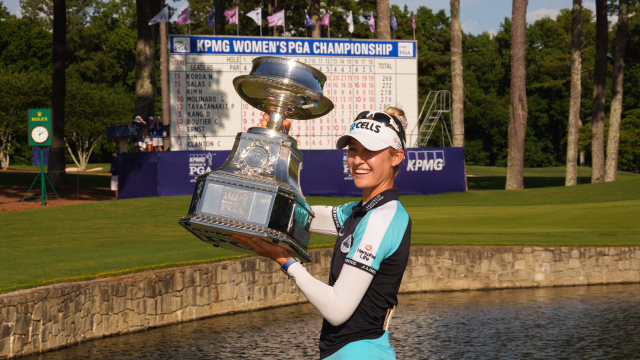 Looking to Achieve a Major Goal? Never Let Up Like KPMG Women's PGA Champion Nelly Korda