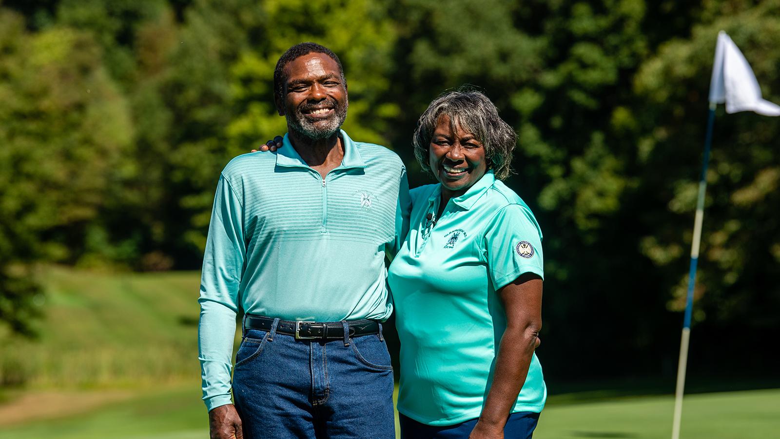 Larry and Renee Powell, PGA