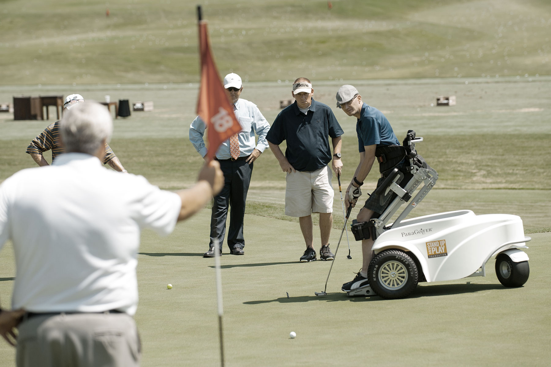 How PGA HOPE supports military Veterans through golf