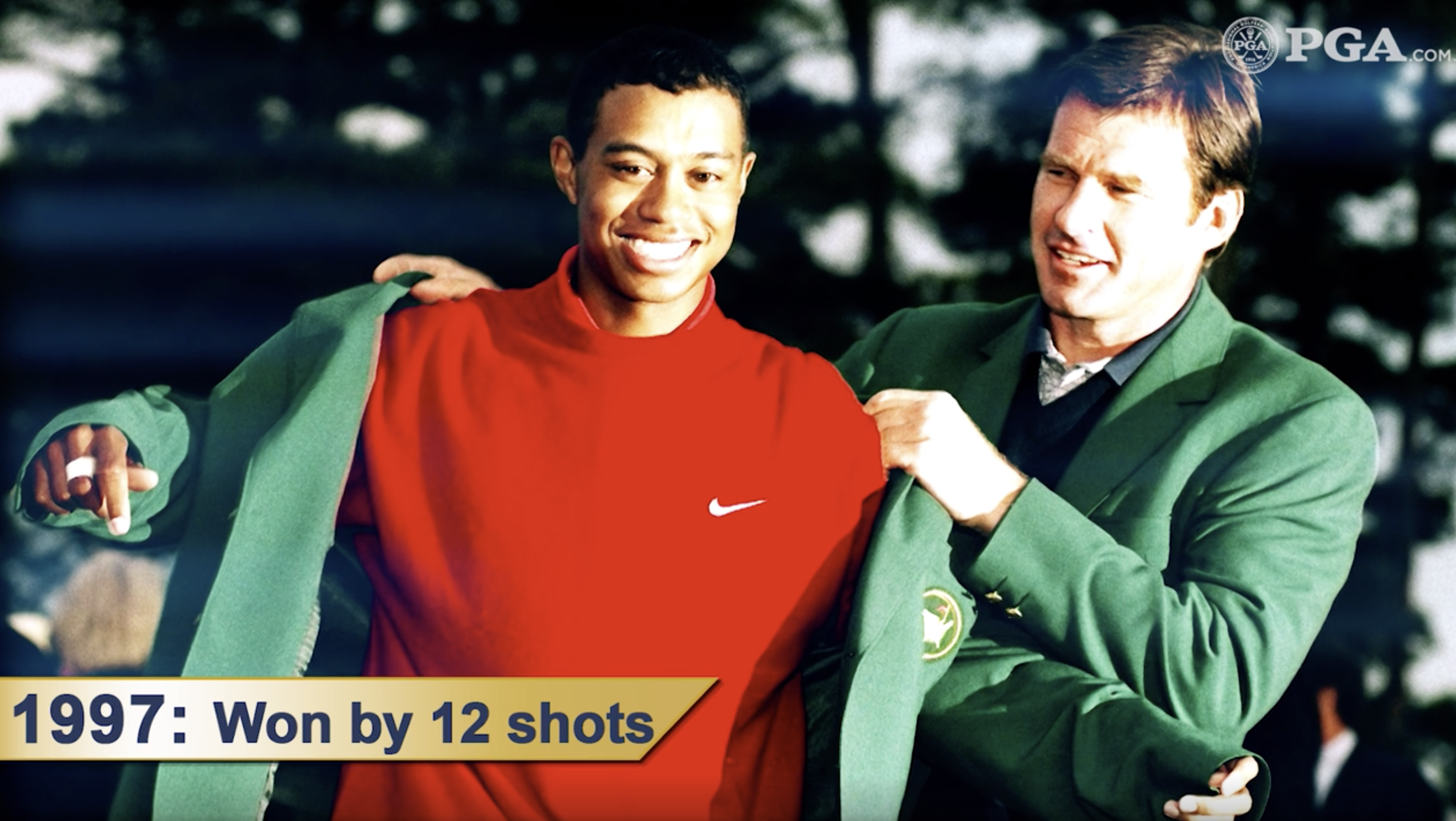 Tiger Woods 1997 Masters