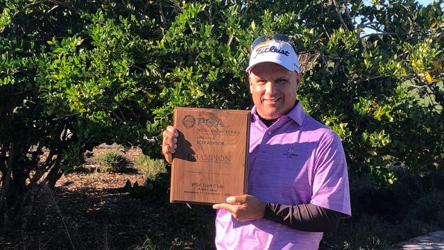 Uresti Birdies Last Two Holes To Win Event No. 1 in PGA Tournament Series