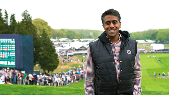 PGA's Arjun Chowdri Shares Fascinating Journey on Keith Stewart Podcast