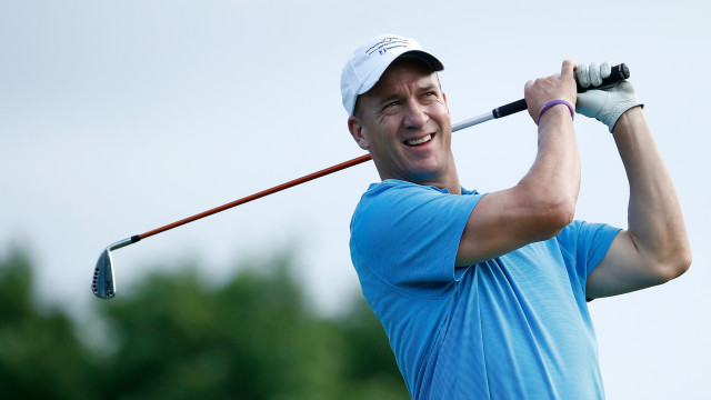 Why Peyton Manning's Throwing Ability Translates to a Smooth Golf Swing