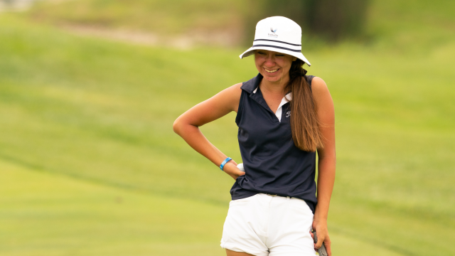 Even Without Her Best Stuff, Anna Davis Keeps the Lead at the 45th Girls Junior PGA Championship