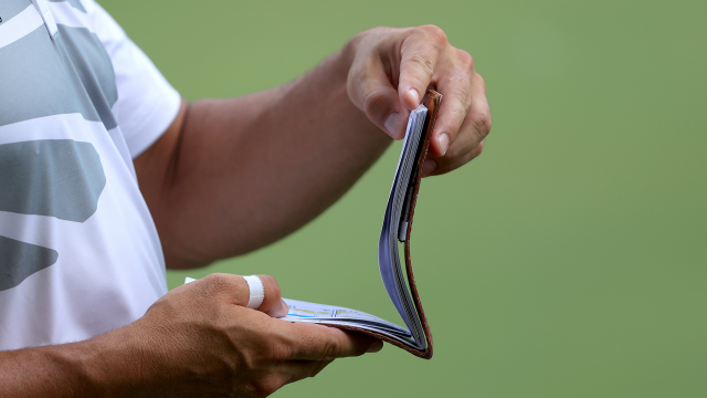 "Building a Yardage Book to ""Carry"" Yourself like a Professional Golfer"