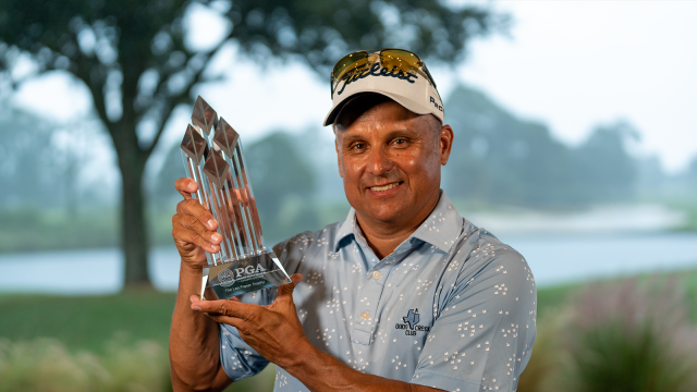 Omar Uresti Withstands Challengers to Set 72-hole Record and Capture the 32nd Senior PGA Professional Championship