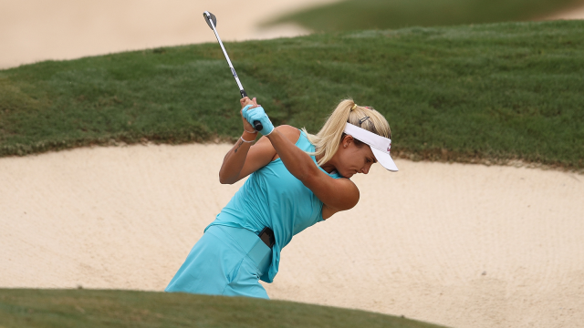 Good Form in the Bunker Creates a Loud Thump