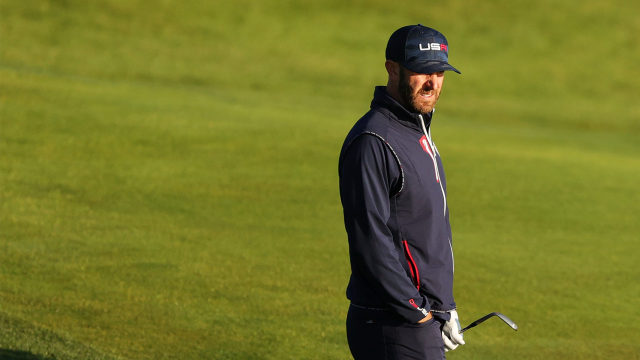 Dustin Johnson Has a Strong Grip on the Competition at the Ryder Cup