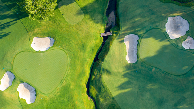 #EscapeToGolf High Above with Amazing Drone Photos from Coast to Coast