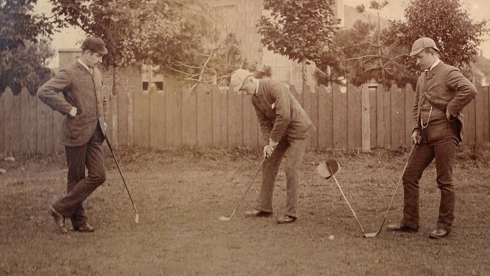 Jack, Archie and Robert Simpson inspired generations of golfers from Carnoustie to all corners of the world