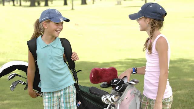 Two junior girls