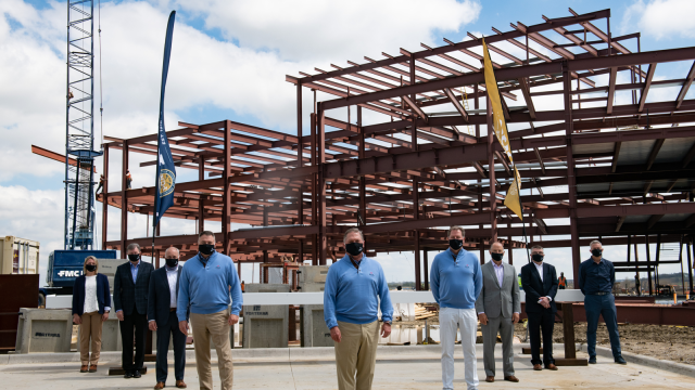 Adolfson & Peterson Construction and Cushman & Wakefield Reach Construction Midpoint on New PGA of America Headquarters at PGA Frisco