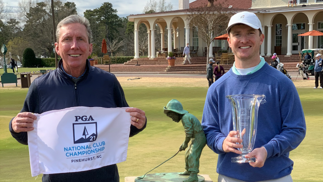 PGA Professional and Son Shared a Special Victory at the PGA National Club Championship