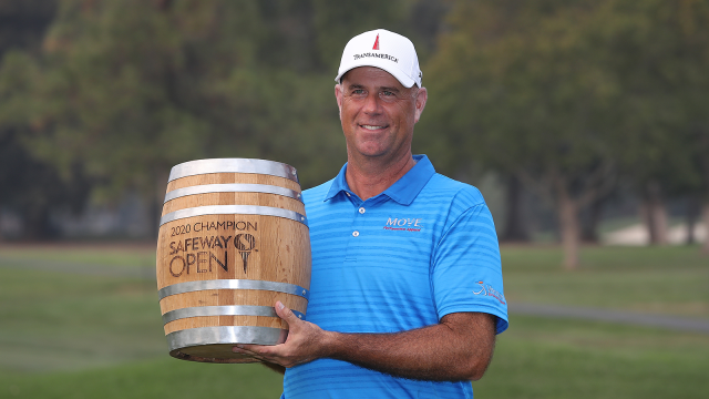 47-Year-Old Stewart Cink Rallies to Win Safeway Open